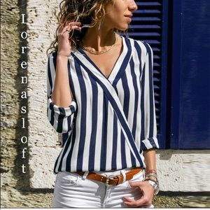 Elegant and Casual Chiffon Strapped Blouse